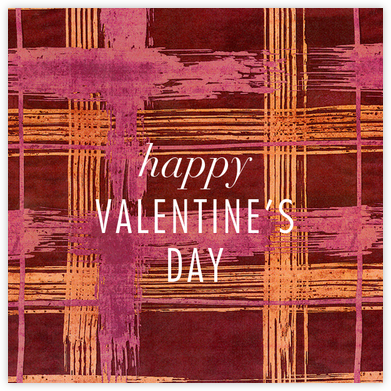 Different Strokes - Crimson - Kelly Wearstler - Valentine's Day Cards