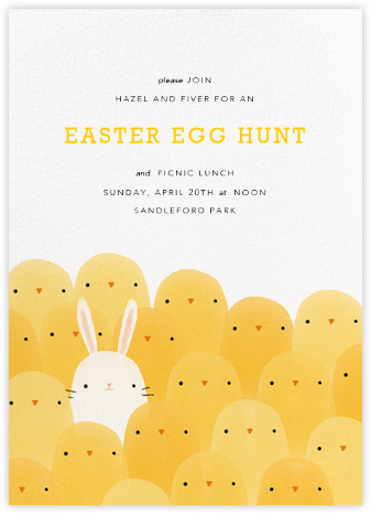 Not Like the Others (Invitation) - Paperless Post - Easter invitations
