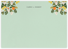 Citrus Orchard Suite (Stationery) - Mint