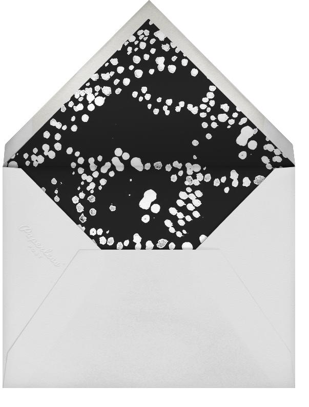 Evoke (Save the Date) - Black/Silver - Kelly Wearstler - Save the date - envelope back
