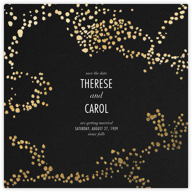 Evoke (Save the Date) - Black/Gold | null