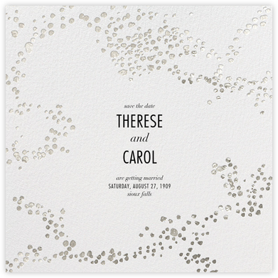 Evoke (Save the Date) - White/Silver - Kelly Wearstler - Save the dates