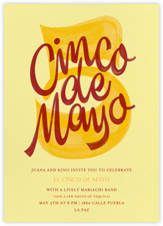 The Big Cinco - Paperless Post - Cinco de Mayo Invitations