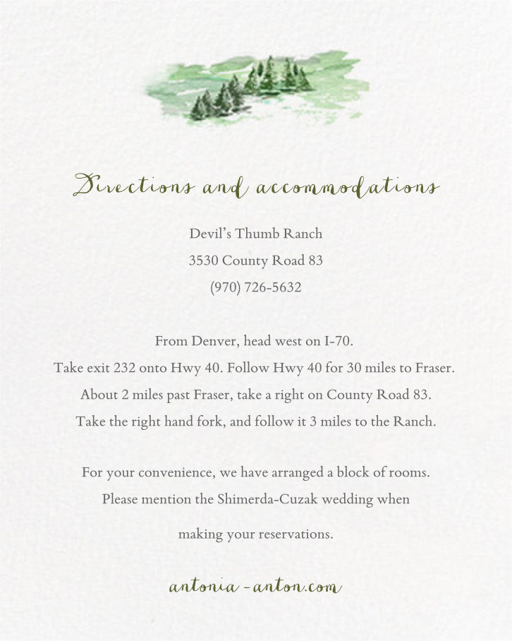 Mountain Scene (Invitation) - Paperless Post - All - insert front