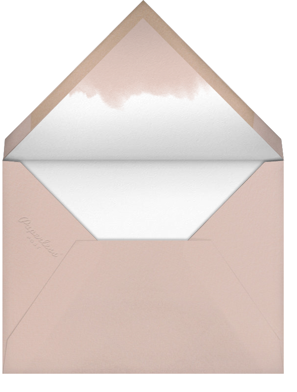 Rose Garland - Paperless Post - Bridal shower - envelope back