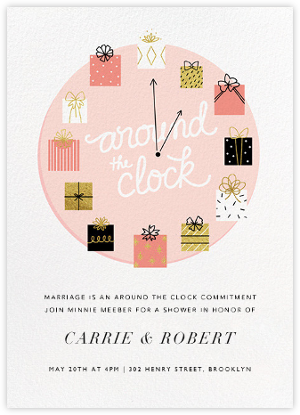 Gifting Hour - Paperless Post - Bridal shower invitations