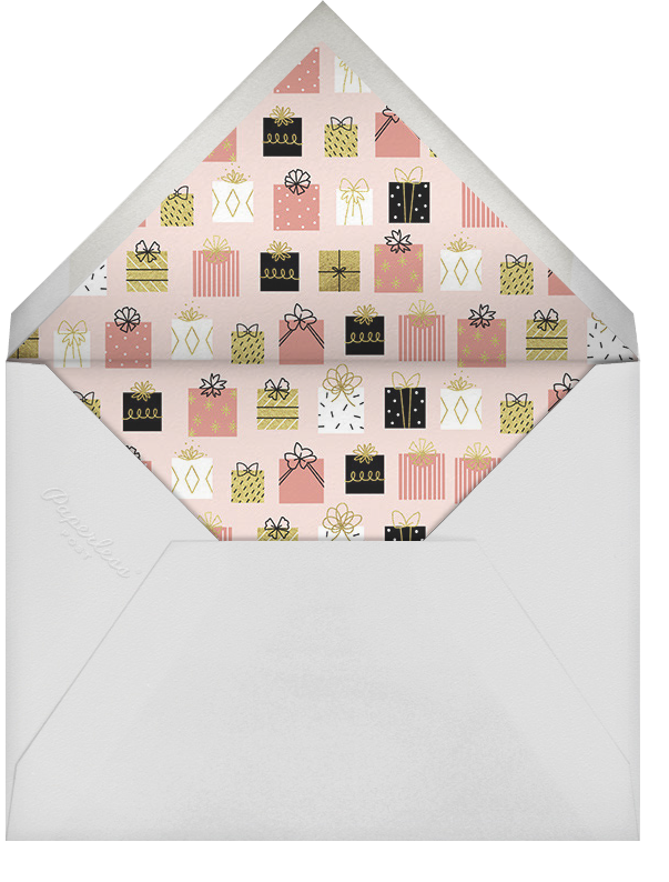 Gifting Hour - Paperless Post - Bridal shower - envelope back