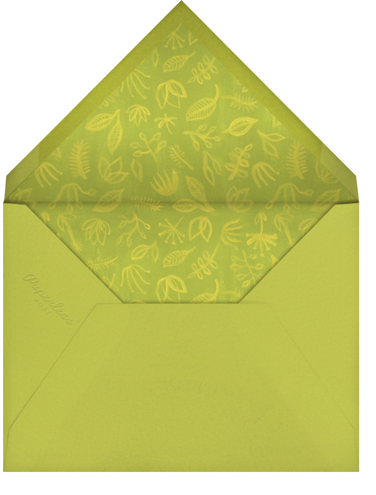 Perennial Love - Paperless Post - Mother's Day - envelope back