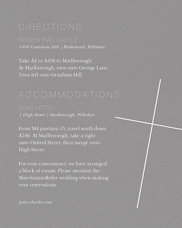 Faithful (Invitation) - Gray - Paperless Post - All - insert front