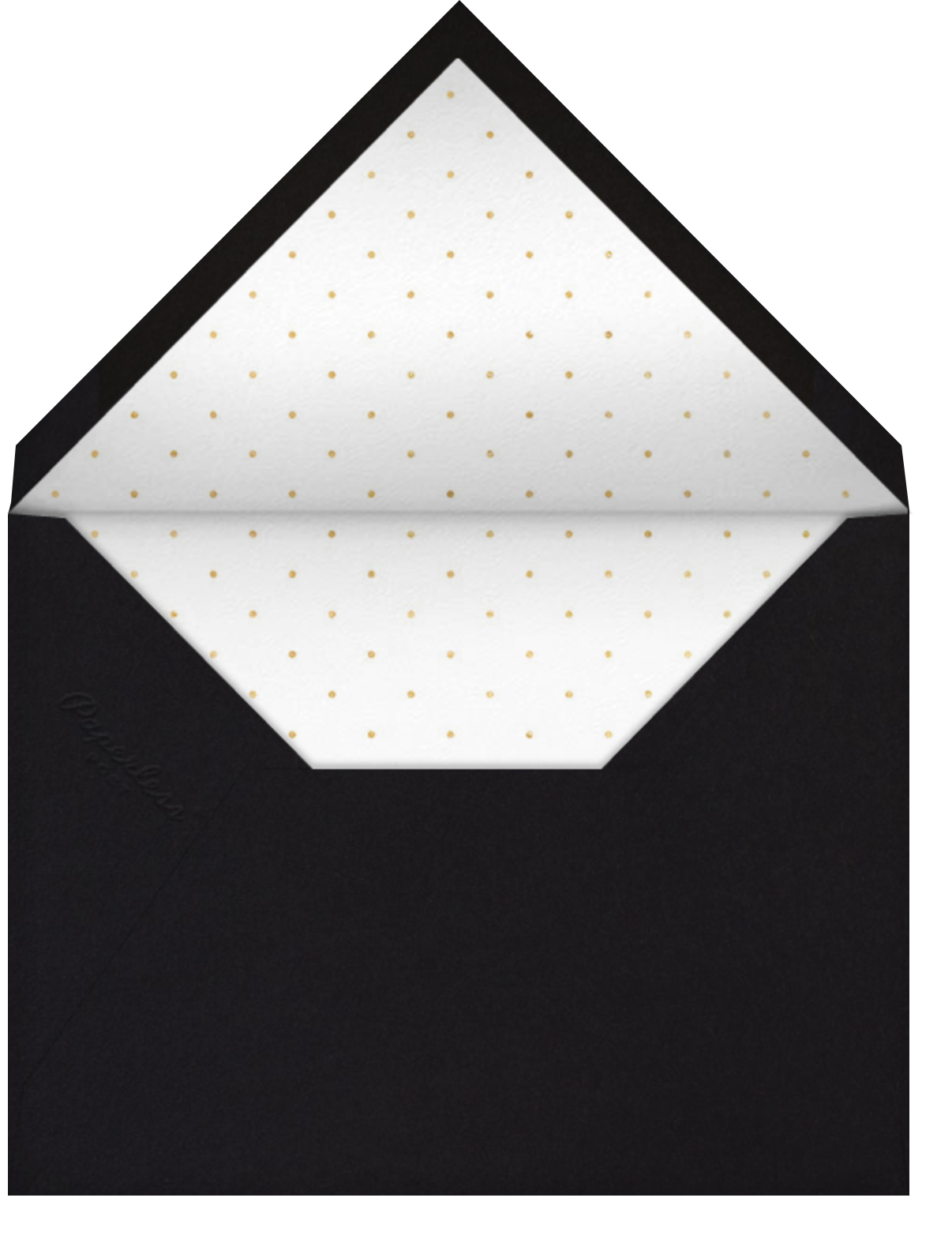 Lucky Stars - Paper + Cup - Adult birthday - envelope back