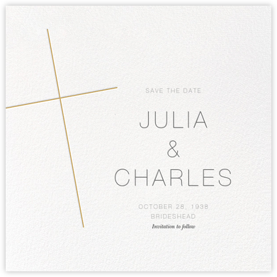 Faithful (Save the Date) - Apricot - Paperless Post -