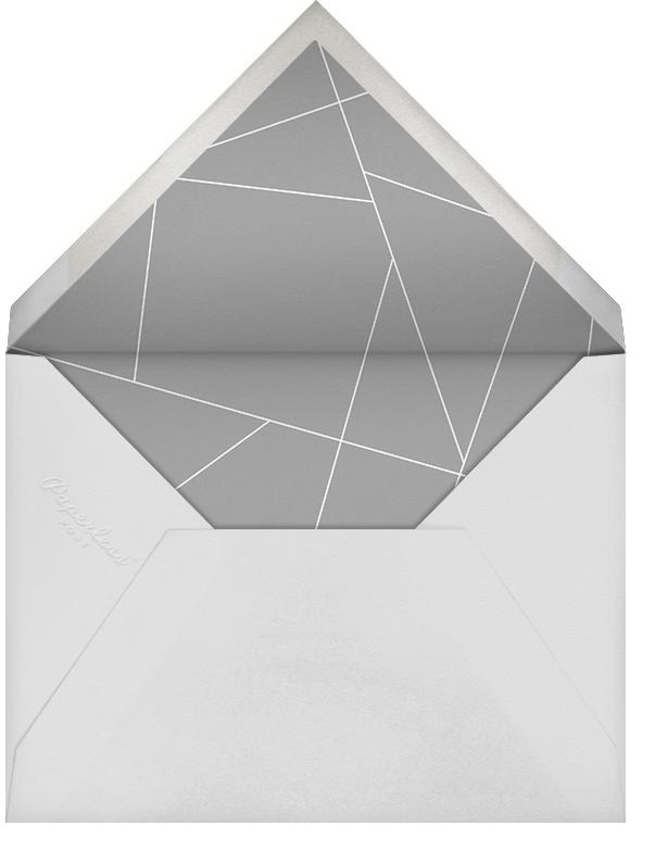 Faithful (Stationery) - Gray - Paperless Post - Personalized stationery - envelope back