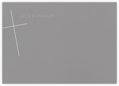 Faithful (Stationery) - Gray | null