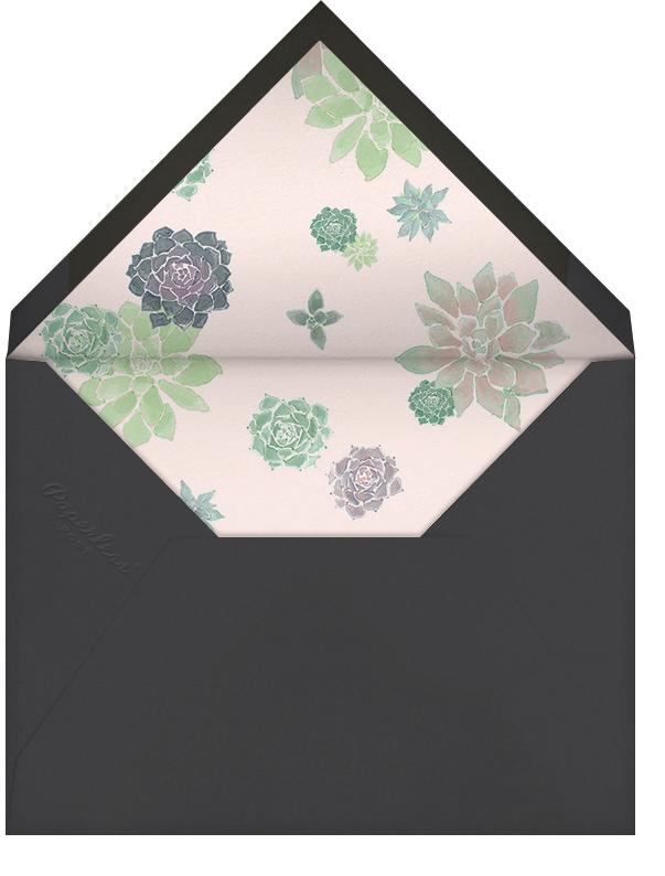 Echeveria (Stationery) - Paperless Post - Personalized stationery - envelope back