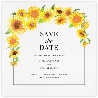 Heirloom (Save the Date) - Paperless Post - Wedding Save the Dates