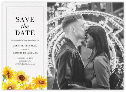 Heirloom (Photo Save the Date) - Paperless Post - Save the dates