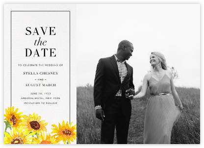 Heirloom (Photo Save the Date) - Paperless Post - Photo save the dates
