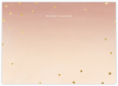L'Heure Bleue (Stationery) - Gold | null