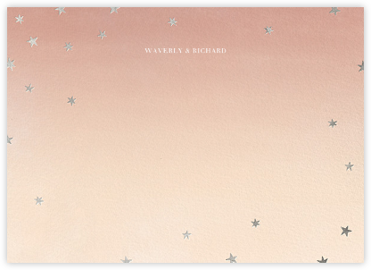 L'Heure Bleue (Stationery) - Silver - Paperless Post -