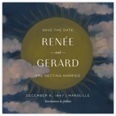 Méliès (Save the Date) - Paperless Post - Save the dates