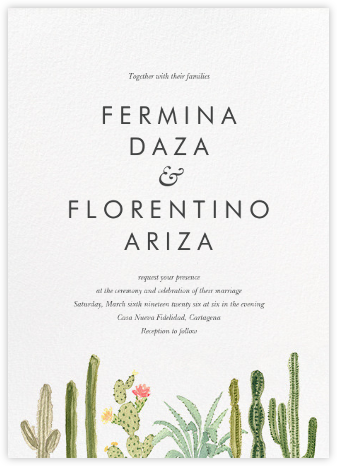 Sonora (Invitation) - Paperless Post - Wedding invitations