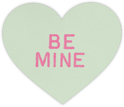 Be Mine - kate spade new york - Valentine's day cards