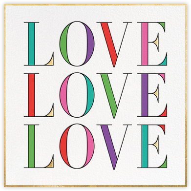 In Love with Love - kate spade new york - Kate Spade invitations, save the dates, and cards