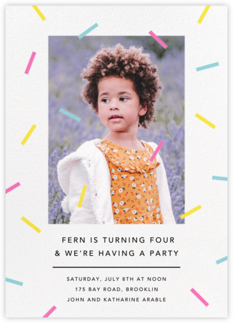 Confection (Photo) - Multi - Paperless Post - Birthday invitations