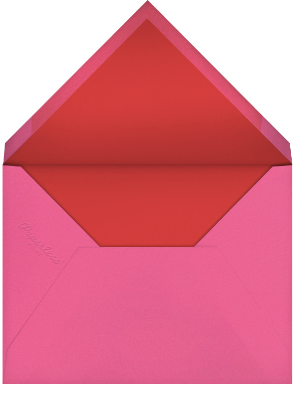 Oaxacan (Tall) - White - Paperless Post - Quinceañera - envelope back