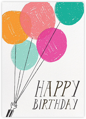 Vanilla or Chocolate Cake (Greeting) - Mr. Boddington's Studio - Birthday Cards for Him