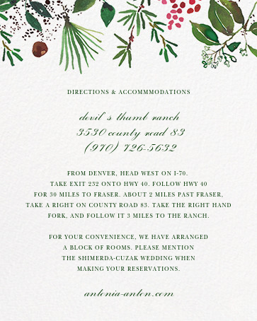 Holiday Market (Invitation) - Happy Menocal - All - insert front