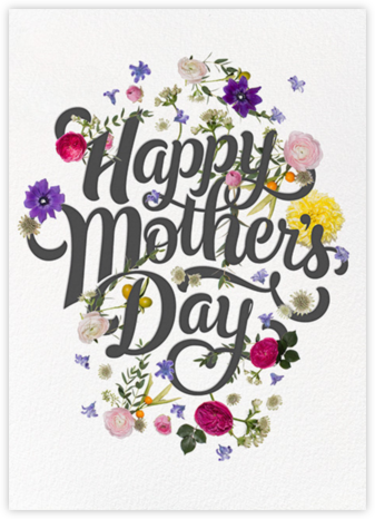 Potpourri Clippings - Paperless Post - Mother's Day Cards