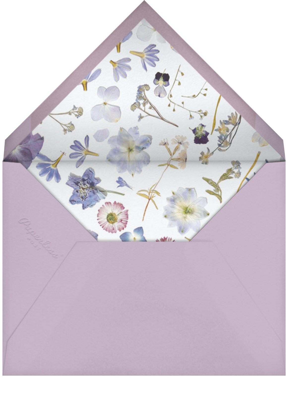 Potpourri Clippings - Paperless Post - Envelope