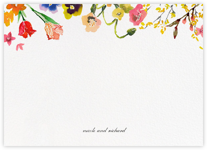 Spring Market (Stationery) - Happy Menocal - Personalized stationery