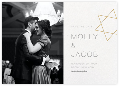 Nissuin (Photo Save the Date) - Millet - Paperless Post - Modern save the dates