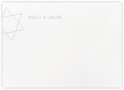 Nissuin (Stationery) - Glacier - Paperless Post - Personalized Stationery