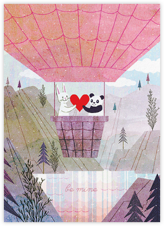 Fur Flying (Josie Portillo) - Red Cap Cards - Valentine's day cards