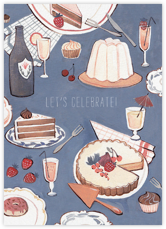 Dessert Table (Kelsey Garrity Riley) - Red Cap Cards -
