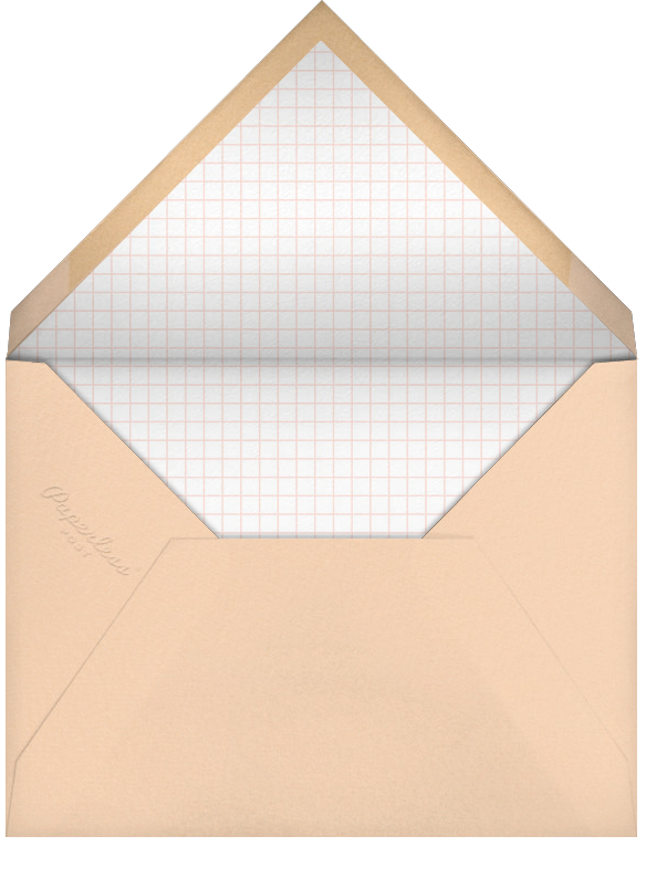 Dessert Table (Kelsey Garrity Riley) - Red Cap Cards - Valentine's Day - envelope back