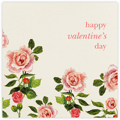 Peony Blossoms - Felix Doolittle - Valentine's Day Cards