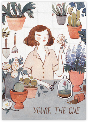 Hothouse Love (Kelsey Garrity Riley) - Red Cap Cards -