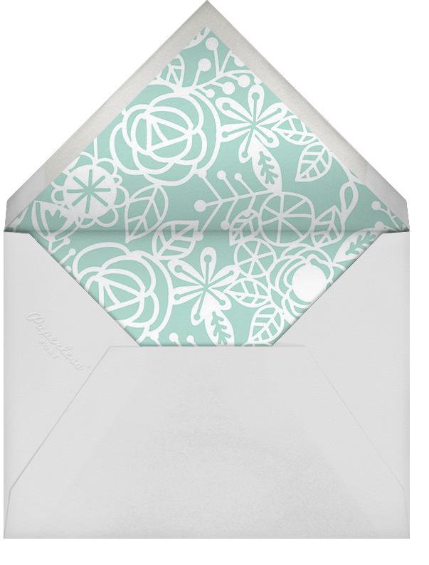 Nitzan II (Stationery) - Celadon - Paperless Post - Personalized stationery - envelope back