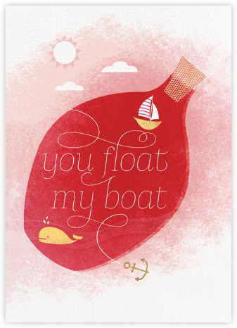 Float My Boat (Jill Labieniec) - Red Cap Cards -