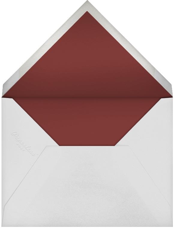 Pug Love (Kelsey Garrity Riley) - Red Cap Cards - Valentine's Day - envelope back