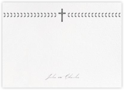 Lamina II (Stationery) - Charcoal - Paperless Post - Personalized Stationery