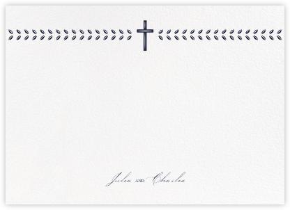Lamina II (Stationery) - Navy - Paperless Post -