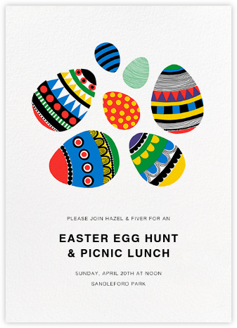 Rai Rai (Invitation) - Marimekko - Easter Invitations