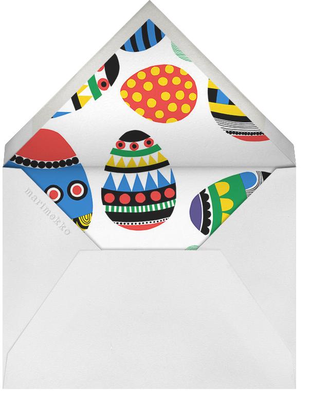 Rai Rai (Invitation) - Marimekko - Easter - envelope back