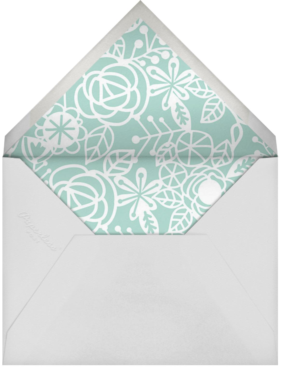Thérèse II (Invitation) - Celadon - Paperless Post - Easter - envelope back