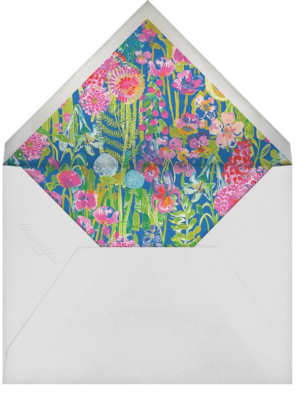 Hampton - Liberty - Spring entertaining - envelope back